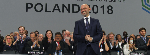 Climat: la COP 24 adopte le cadre général de la mise  et oelig;uvre de l'Accord de Paris