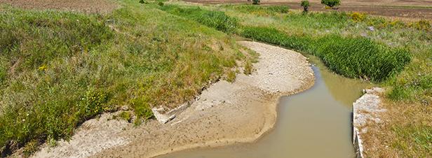 Sécheresse: le gouvernement fait une entorse à l'obligation de débit minimal des cours d'eau