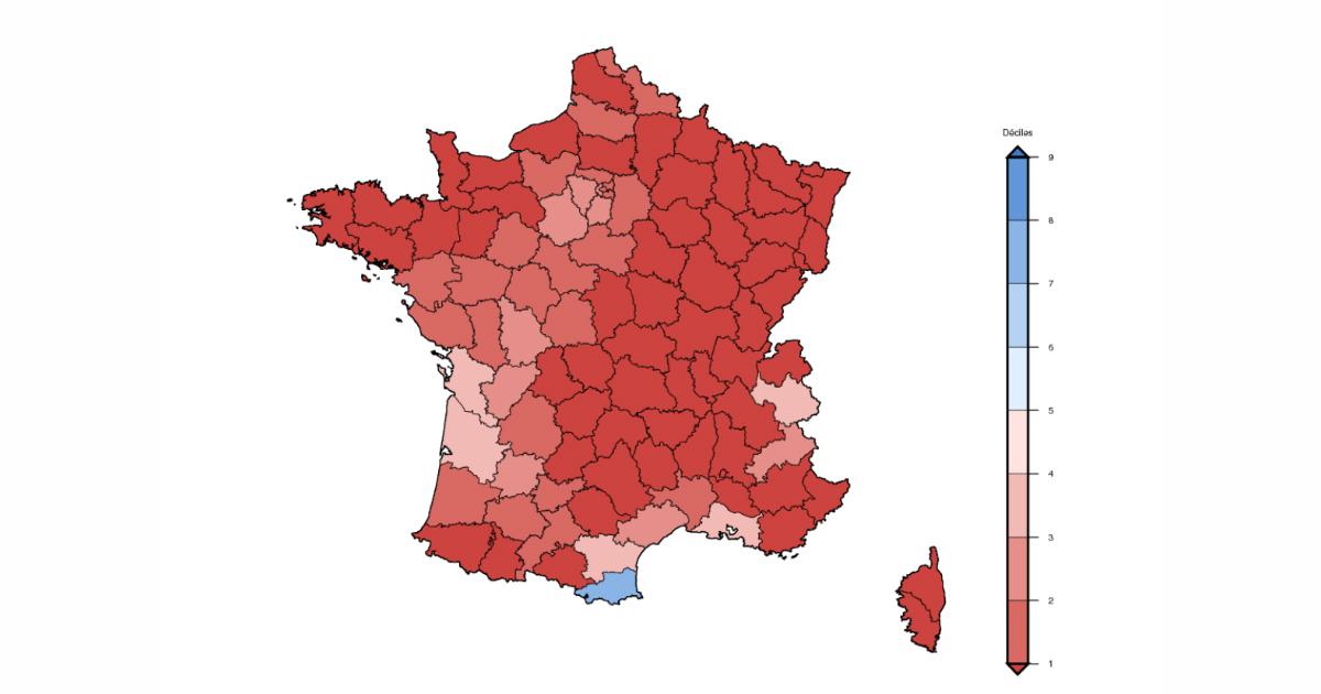 carte nappe phréatique france 2020 Sécheresse : bon bilan de recharge des nappes, mais fort déficit