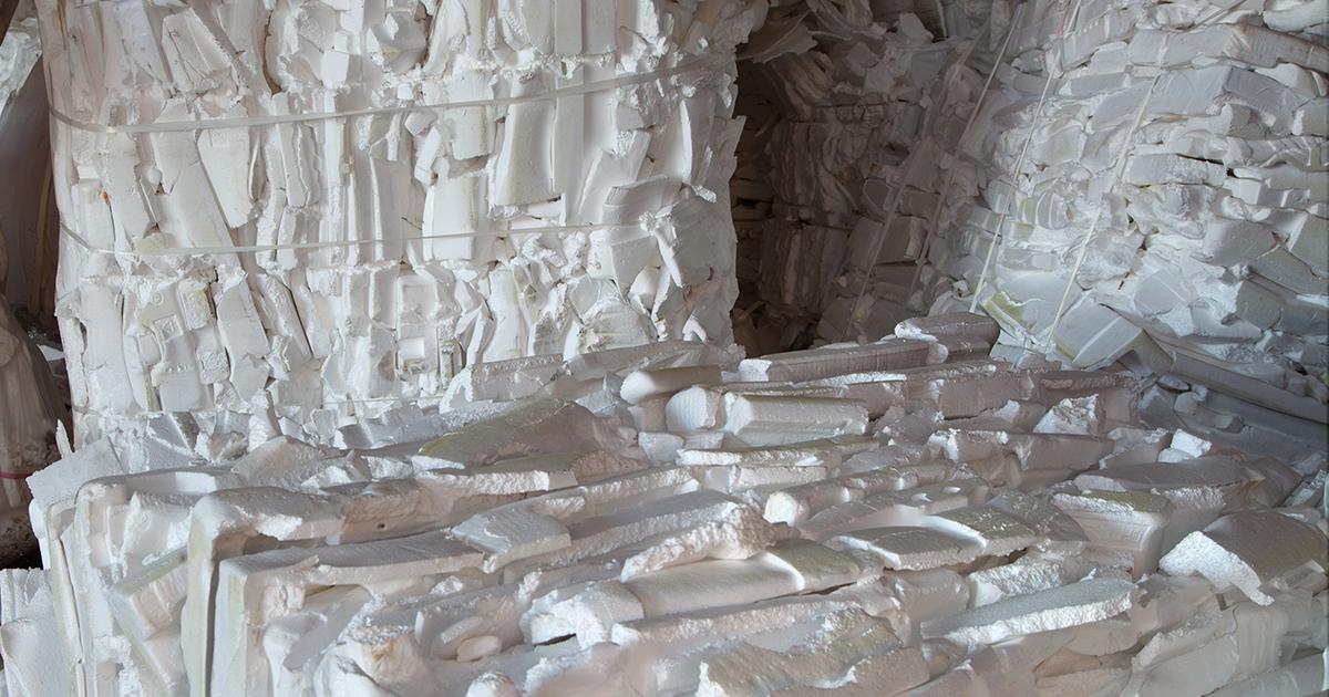 Polystyrène: Citeo, Valorplast et Syndifrais vont dresser un état des lieux du recyclage