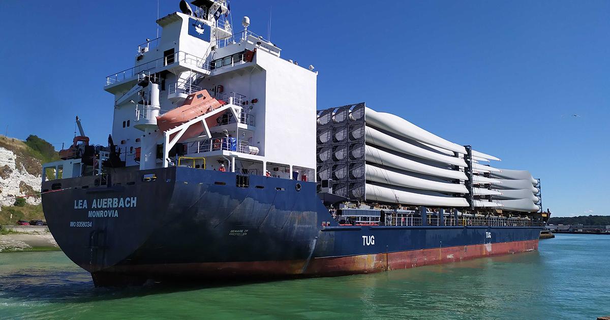 Les territoires portuaires se préparent à l'éolien en mer