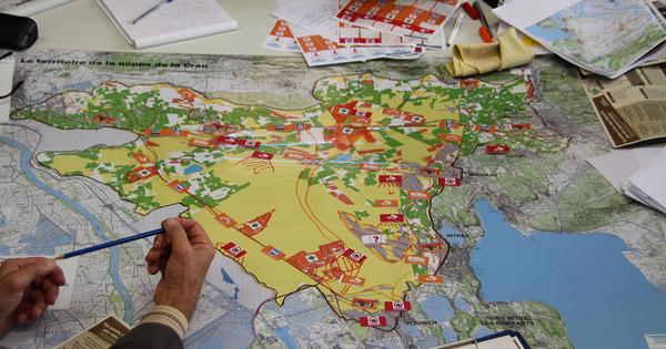 Nappe de la Crau: protéger la ressource en eau en agissant sur l'aménagement du territoire