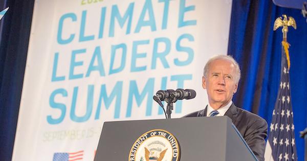 Joe Biden, leader attendu pour le climat