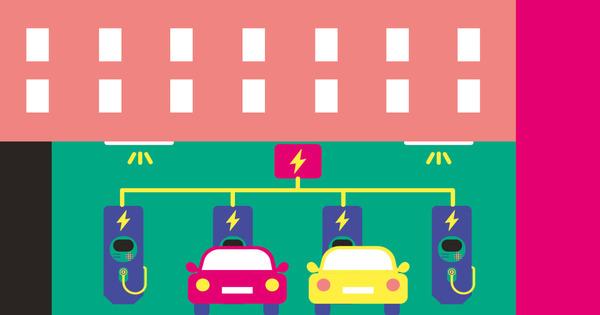 Véhicules électriques: un potentiel de 145 000 places dans les copropriétés parisiennes