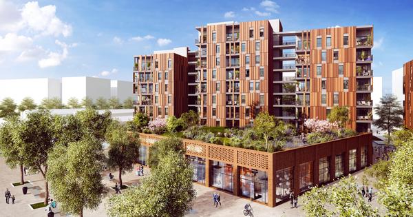 Wood'Art: un projet d'ensemble immobilier à 76% composé de bois