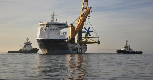 Énergies marines renouvelables: 127 projets soutenus en Europe