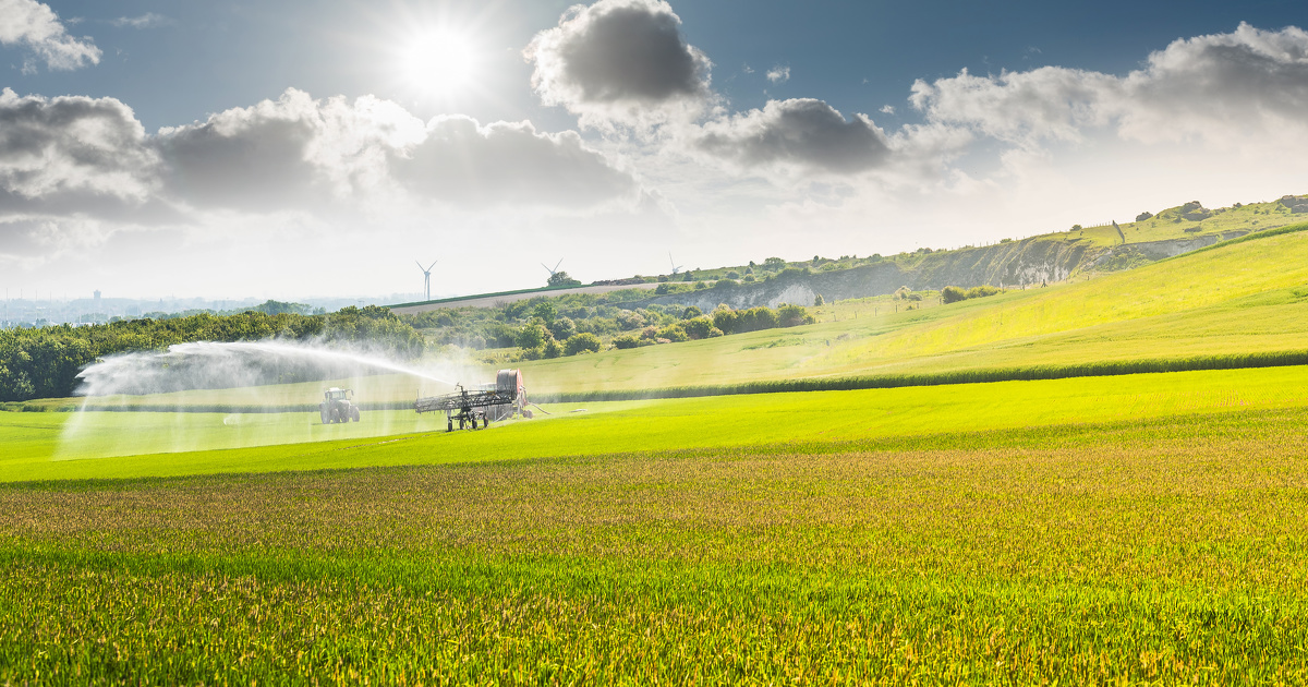 Le Varenne agricole de l'eau et du changement climatique est lancé