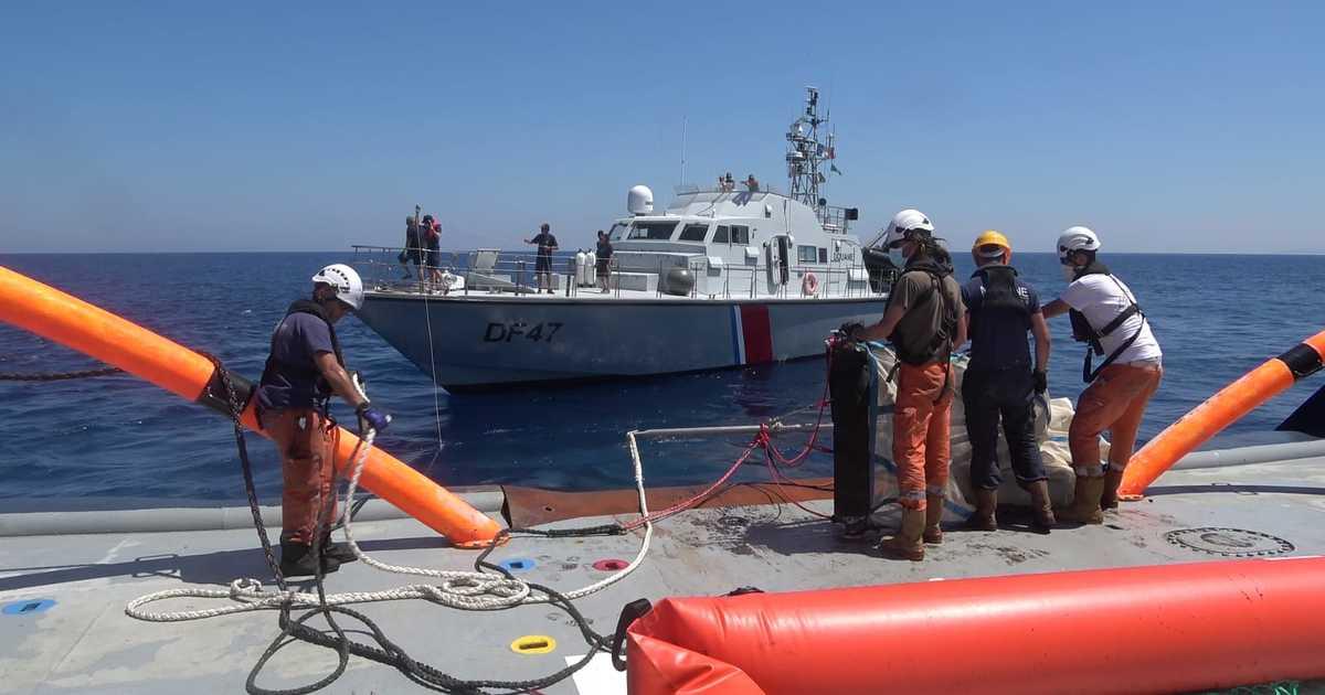 Pollution maritime en Corse: une course contre la montre pour dépolluer et retrouver les responsables