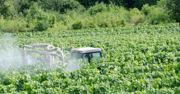 Pesticides dans l'air: les résultats de la campagne exploratoire offrent de premières données nationales