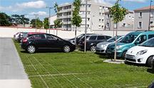 Les parkings perméables végétalisés au service de l'aménagement durable