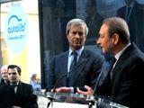 Vincent Bolloré et Bertrand Delanoë inaugurent Autolib'
