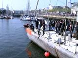 Tara de retour à Lorient après 117.000 km sur les océans