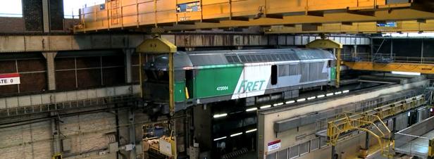 Recyclage des trains une activit rentable - Wagon de train a vendre occasion ...