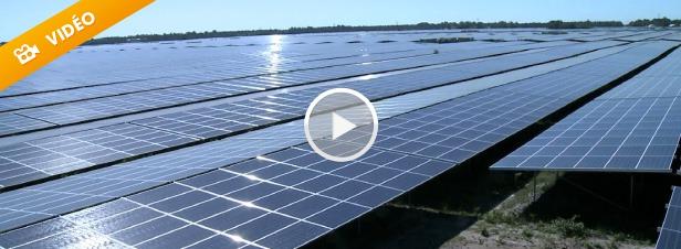 Titanesque ! La centrale photovoltaïque de Cestas, en Gironde
