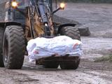 Des centaines de milliers de tonnes d'amiante enfouies sous terre