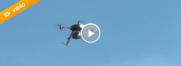 Les drones investissent le monde de la recherche environnementale