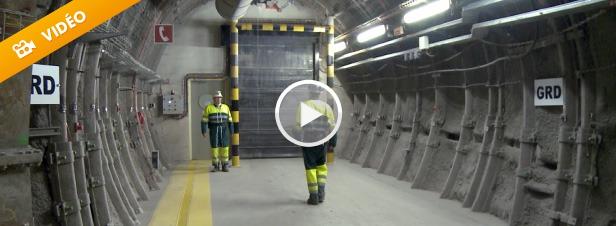 Descente dans les entrailles de Cigéo, le futur centre d'enfouissement nucléaire