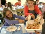 Sus au gaspillage alimentaire dans les écoles !