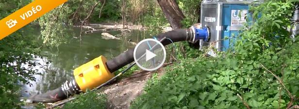 Ile-de-France : deux mois pour renouveler l'eau d'un lac pollué
