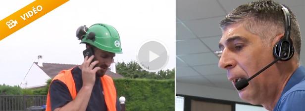 Ordonnanceur et chargé des réseaux, deux métiers au service de l'eau potable