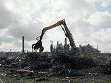 Dépollution d'envergure à l'ancienne raffinerie de Dunkerque