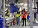 Inauguration du premier réseau de chaleur de cinquième génération à Paris Saclay