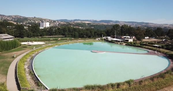 Des bassins de baignade remplis d'eau 100% naturelle