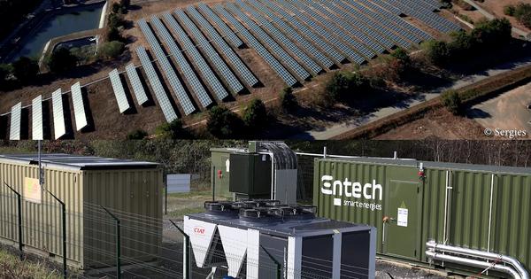 Une batterie de stockage pour mieux piloter les centrales solaires