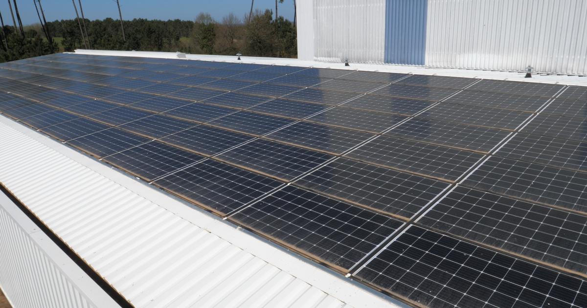 Des panneaux thermovoltaïques pour sécher des déchets
