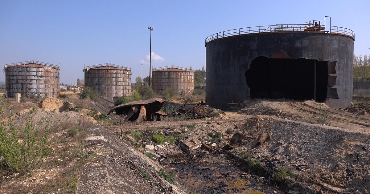 Dépollution de la raffinerie Petroplus: dernière ligne droite pour le chantier de réhabilitation
