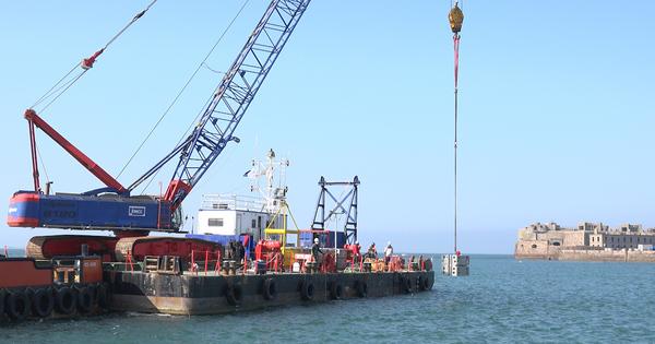 Biodiversité marine: bientôt une digue éco-conçue à Cherbourg?