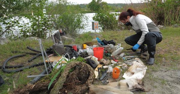 La pollution plastique du Rhône passée à la loupe