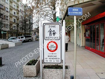 Photo Zone pietonne