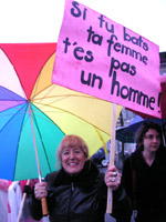 Photo Manifestation contre les violences conjugales