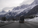 Photo Transports par camion dans les alpes