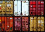 Photo Containers de transport maritime